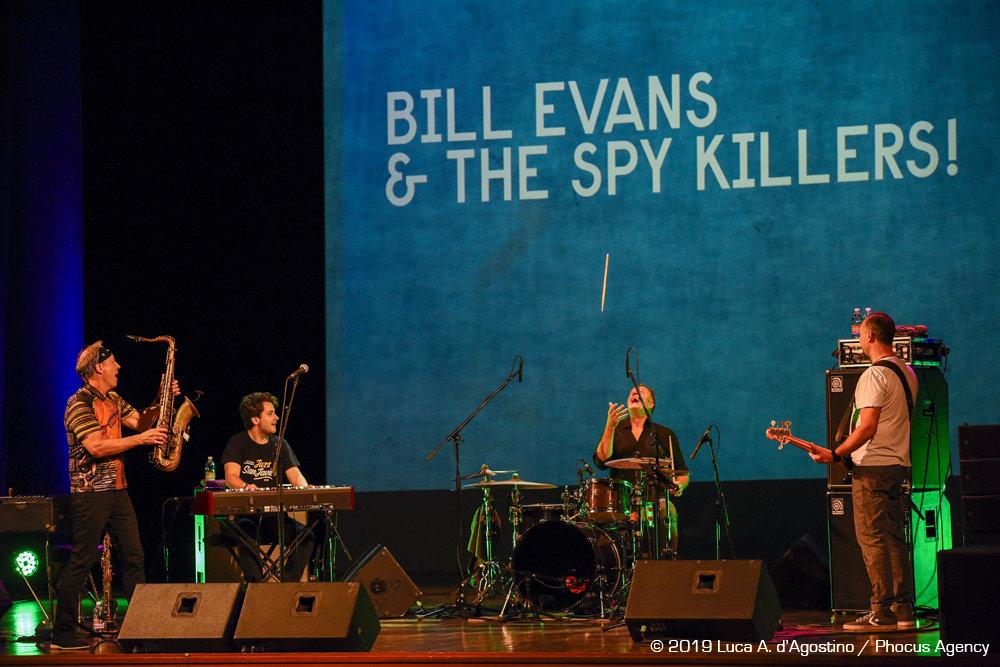 Il Volo del Jazz 2019 - BILL EVANS & The SPY KILLERS